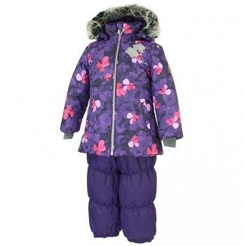 Зимний термокомплект для девочки Huppa NOVALLA, фиолетовый