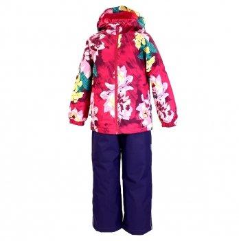 Демисезонный костюм (куртка и штаны) Huppa Rex Малиновый 45080014-91363