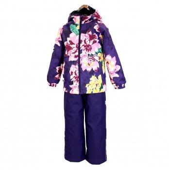 Демисезонный комплект (куртка и штаны) Huppa Rex Лиловый 45080014-91373