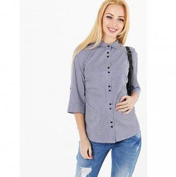 Рубашка для беременных и кормящих To Be Синий 1394224