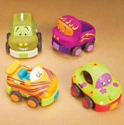 Игровой набор Battat Забавный автопарк