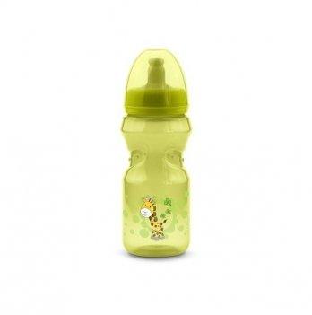Бутылочка непроливайка Nuvita 12м+, 370мл, салатовая