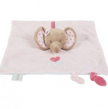 Мягкая игрушка-кукла Nattou, слоник Рози