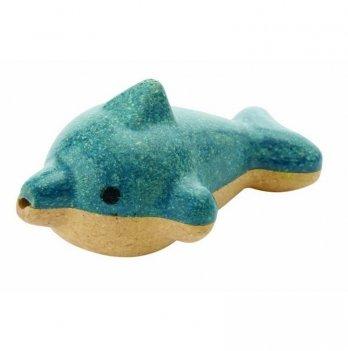 Свисток деревянный PlanToys® Дельфин