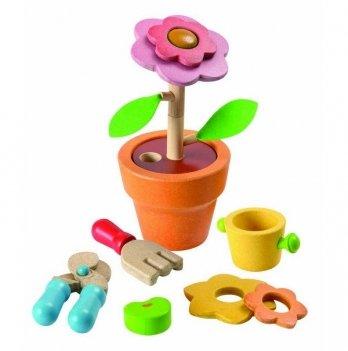 Деревянная развивающая игрушка PlanToys® Цветок