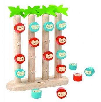 Деревянная игрушка PlanToys® Обезьянки в ряд