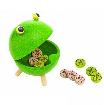 Деревянная игрушка PlanToys® Накорми лягушку