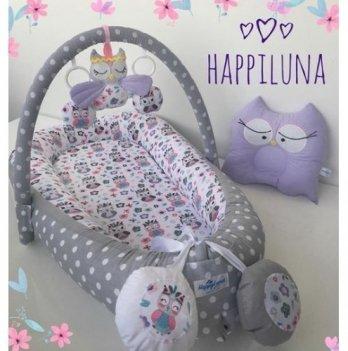 Кокон-гнездышко Happy Luna 0131 Babynest Standart Совки 2