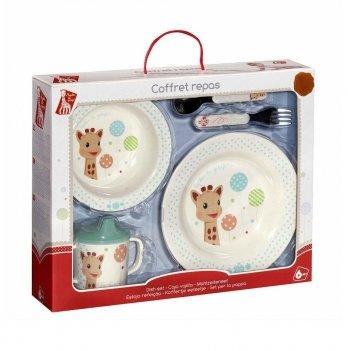 Набор детской посуды Balloons, Vulli, 5 предметов, с непроливайкой