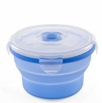 Контейнер-трансформер для еды Nuvita 6м+, 540мл, синий