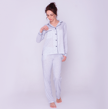 Нежный пижамный набор из штапеля