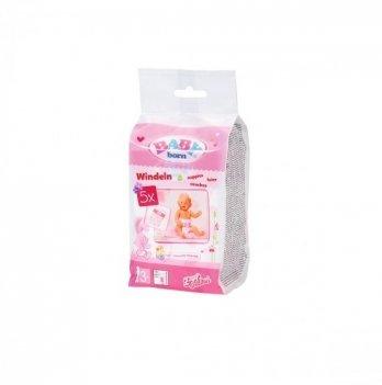 Подгузники для куклы Zapf Baby Born 826508