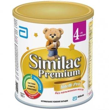 Заменитель грудного молока Abbott Labaratories Similac Премиум 4, 900г