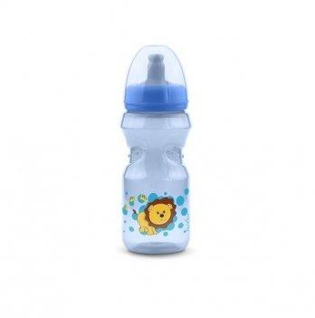Бутылочка непроливайка Nuvita 12м+, 370мл, синяя