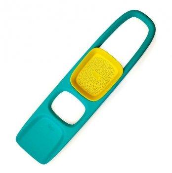 Игрушка для песка и снега Quut, лопатка с ситом SСOPPI, цвет зеленый+желтый