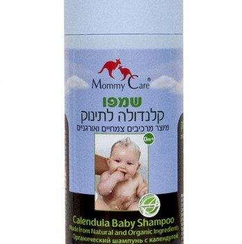 Детский шампунь Mommy Care с органической лавандой и календулой, 400 мл