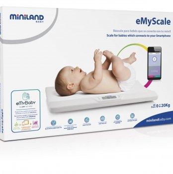 Смарт-весы детские 0 - 20 кг Miniland Baby, EmyScale