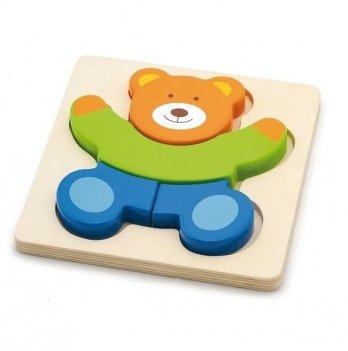 Мини-пазл Viga Toys Медведь 50169