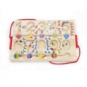 Развивающая игрушка Viga Toys Лабиринт Цифры 50180