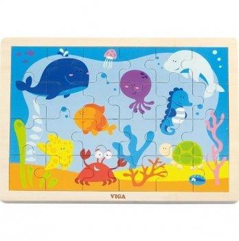 Пазл Viga Toys Океан 50200 24 шт