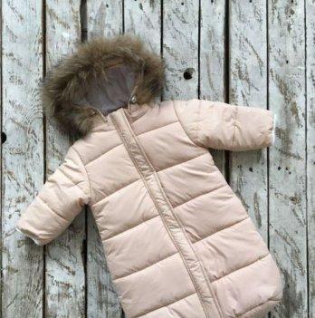 Зимний комбинезон для новорожденного Magbaby SuperStar Бежевый