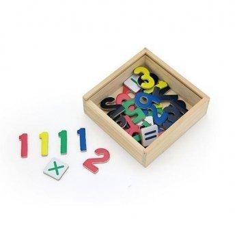 Набор магнитов Viga Toys Цифры 50325 37 шт