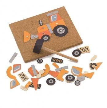 Набор для творчества Viga Toys Строительная техника 50336