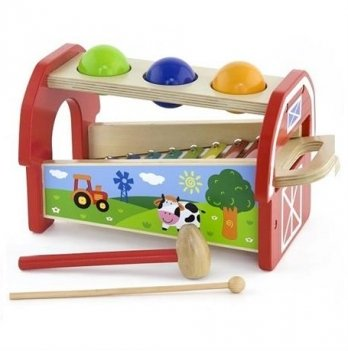 Игрушка 2-в-1 Ксилофон Viga Toys