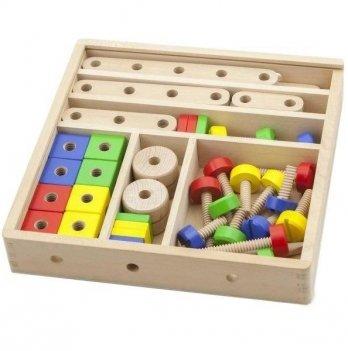 Набор строительных блоков Viga Toys 50490 53 шт