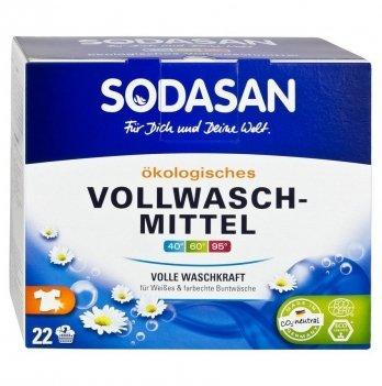 Органический стиральный порошок-концентрат Sodasan Heavy Duty, 5050, 1,2 кг