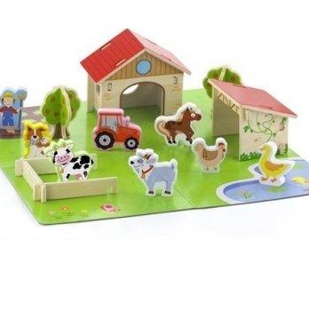 Игровой набор Viga Toys Ферма 50540 30 шт