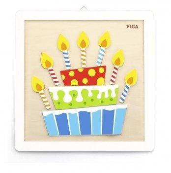 Набор для творчества Viga Toys Своими руками Торт 50684