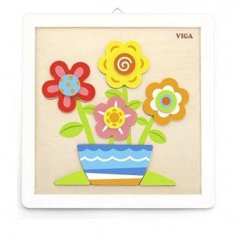 Набор для творчества Viga Toys Своими руками Цветы 50685