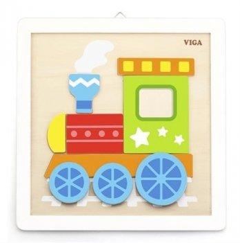 Набор для творчества Viga Toys Своими руками Паровозик 50686