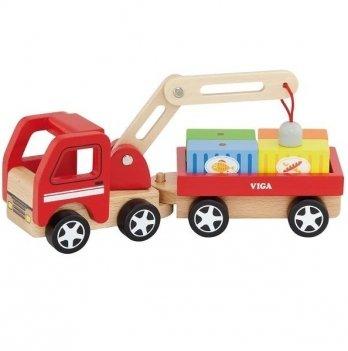 Игрушка Viga Toys Автокран 50690