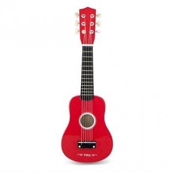 Игрушка Viga Toys Гитара красная