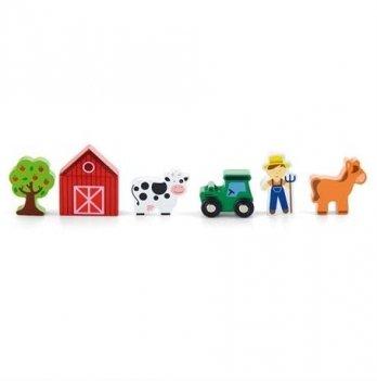 Дополнительный набор к ж/д Viga Toys Ферма 50812