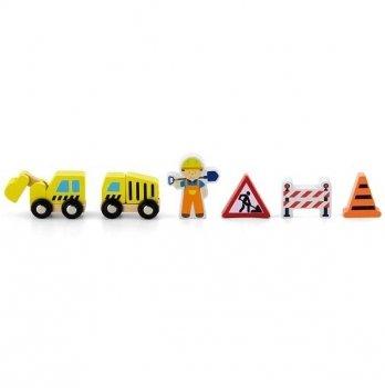 Дополнительный набор к ж/д Viga Toys Строители 50813