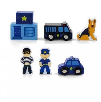 Дополнительный набор к ж/д Viga Toys Полицейский участок 50814