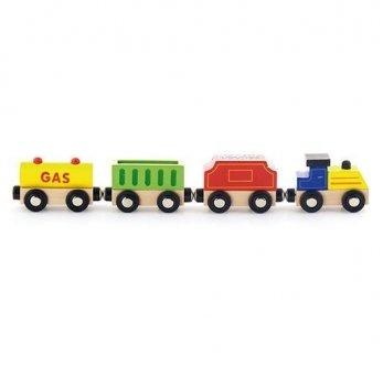 Дополнительный набор к ж/д Viga Toys Поезд грузовой Источники энергии 50820