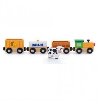 Дополнительный набор к ж/д Viga Toys Поезд-ферма 50821