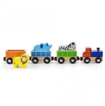 Дополнительный набор к ж/д Viga Toys Поезд с животными 50822