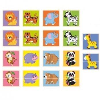 Пазл Viga Toys Дикие животные 50842