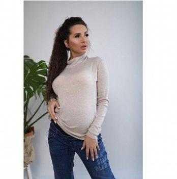 Джемпер для беременных и кормящих To Be Персиковый 4131050