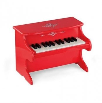 Игрушка Viga Toys Пианино красное