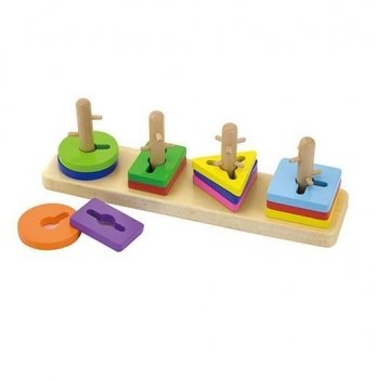 Головоломка Viga Toys Форма и цвет 50968