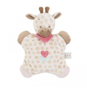 Мягкая игрушка-подушка Nattou, жираф Шарлота, 24см