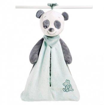Мягкая игрушка-сумка для подгузников Nattou, пандочка Лулу
