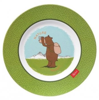 Тарелка Sigikid Forest Grizzly 24765SK