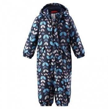 Комбинезон зимний для девочки ReimaTec PUNA, 510264, темно-синий